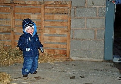 Craig at Manor House Stables, early December 2007.