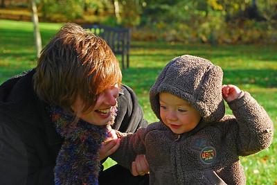 Jill and Craig at Threave Gardens Autumn 2007.