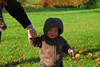Craig at Threave Autumn 2007.