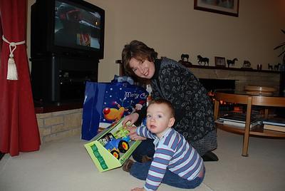 Jill and Craig at home Xmas 2007.