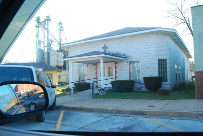 Crane Missouri- town, church and home