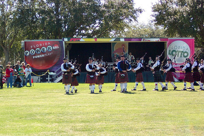 Bagpipes at the Scottish Highland's Festival Orlando, FL