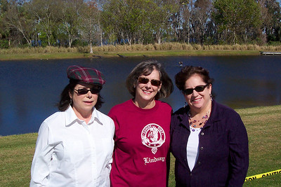 Virginia, Caron, & Evelyn at the Scottish Highland's Festival Orlando, FL