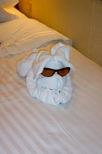 Towel rabbit