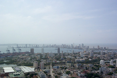 Cartagena, Columbia. View from  Monastery at Cerro de la Popa