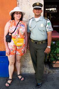 Virginia arrested (not), Cartagena, Columbia