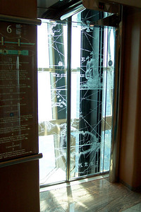 Jewel of the Seas' elevator