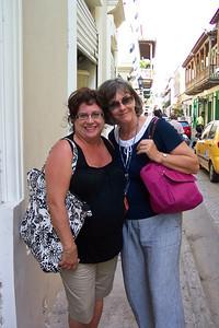 Evelyn and Caron, Cartagena, Columbia
