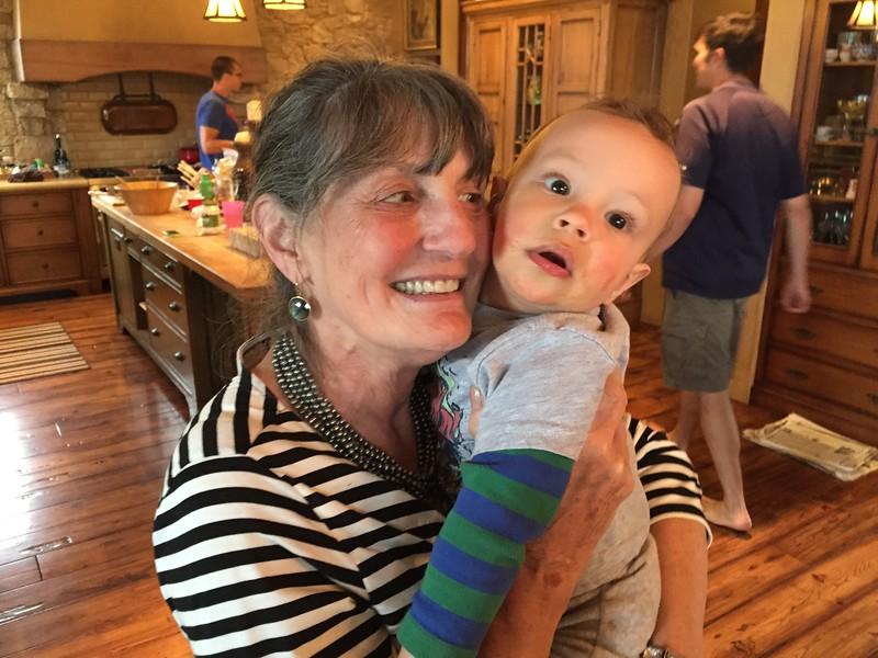 Auntie Barb and Ellis