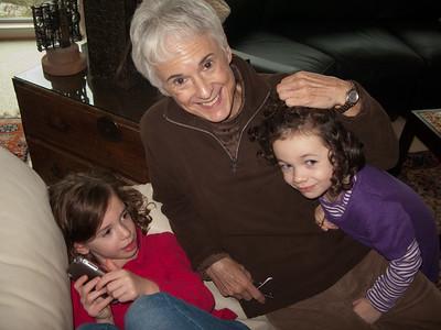 Nina with Reagan & Kiana