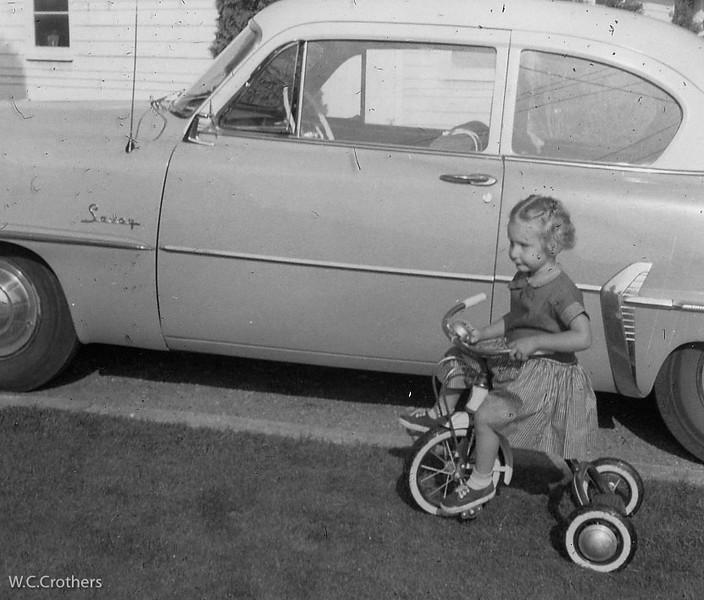 20090115-Nancy Bernards 1956 on trike-1348SM