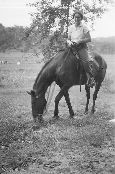 20090205-Delphine on horse Sept 12, 1938-1383SM