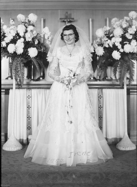 20090107-Irene Stupfel wedding  Nov 1952-1205SM