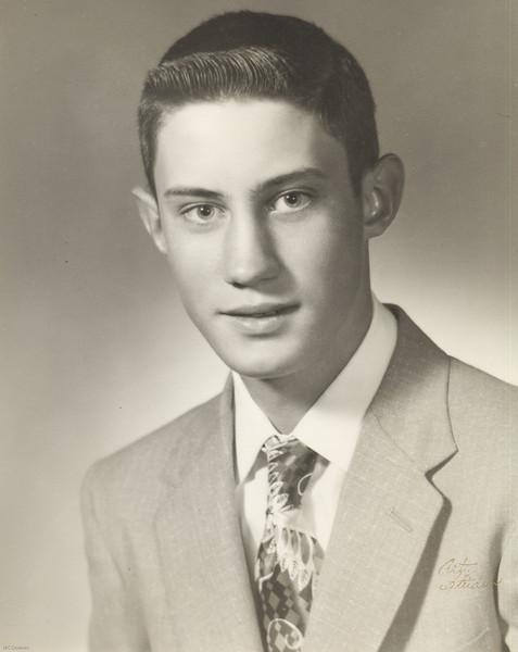 20090125-Vincent Paul Woods DB 6-27-1940 HS graduation 1958-1380SM