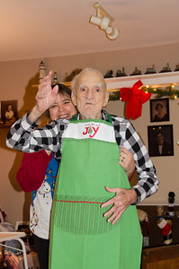 Grandpa ready for some breakfast