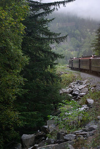 Juneau, Ak Train Ride 143