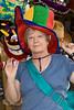 2007 Carol loved her hats