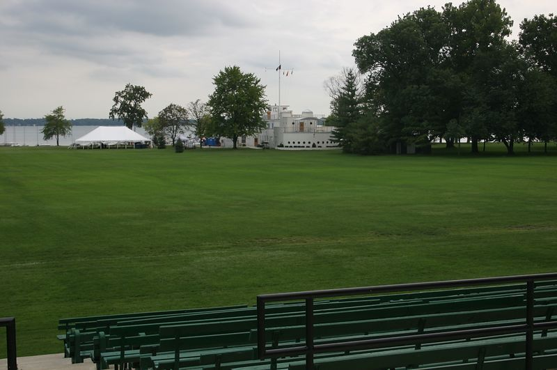 This is Naval, looking from Parade Field.