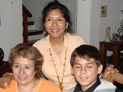 Festejando a Mauricio. Septiembre 2007