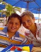 """Comenzamos celebrando a Mauricio en el Restaurante """"Mocambo"""" en la zona hotelera."""