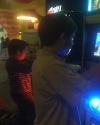 ambos estuvieron jugando video juegos