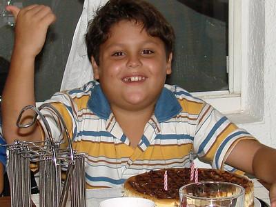 listo para partir el pastel