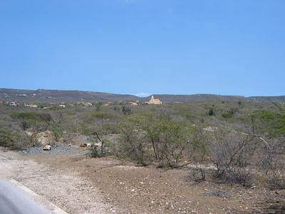 Curacao church (distant)