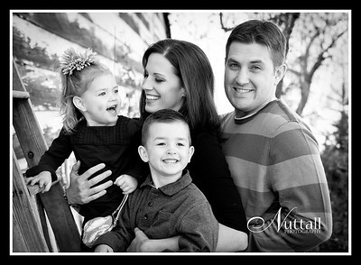 Curran Family 079bw