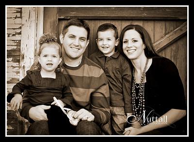 Curran Family 012sepia