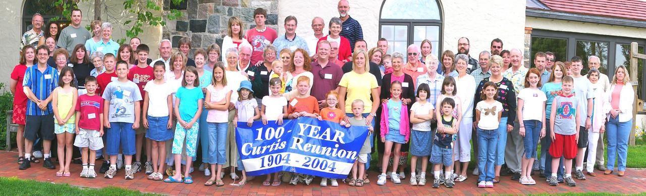 Panorama of Curtis Reunion 2004