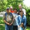 James Edmund, Jimmer, Julie, Joshua, Margie and Kathy's girl.