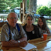 Jim, Rebecca (Gail's daughter) and Hero (Gail's Granddaughter.