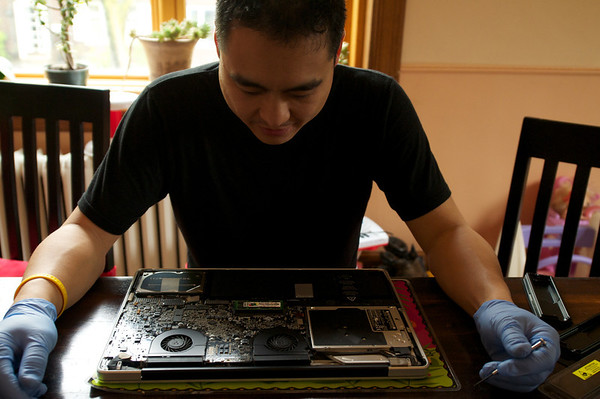 Open heart surgery on my lap top!  Thanks for the 8G Rex!