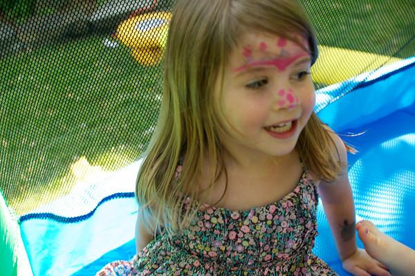 Bouncy princess