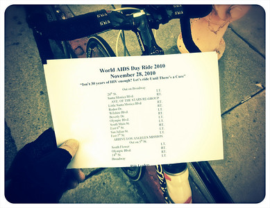 World AIDS Day Ride 2010