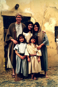 on the set of Jesus the Children's version