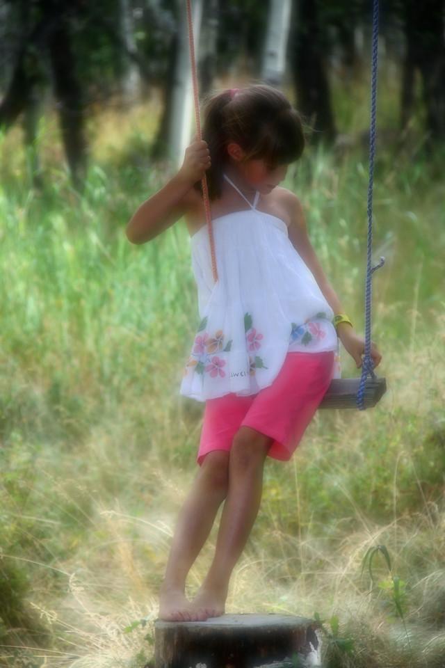 rachel on swing softened