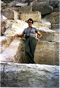 the pyramids in Egypt 1985