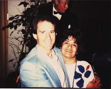 July 29, 1985  married 2 weeks at the Kupferberg wedding