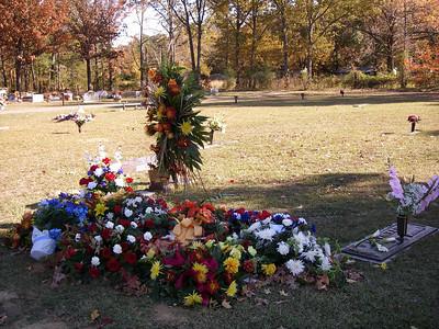 Dad Goldman's Gravesite 2006-08