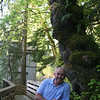 My Dad and a cool tree :)