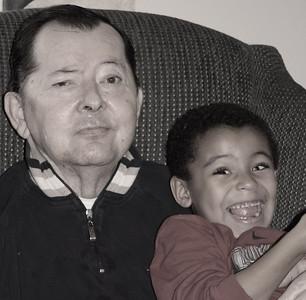 Dad and Zander 2