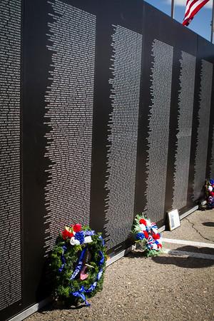 Dad at the Vietnam Wall