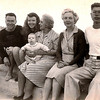Dad, Mom, Al, GG Sadie, Grandma Ruth and Uncle David (Balboa, 1945).