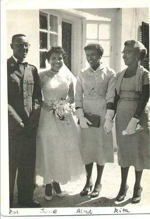 Dad, Mommy, Mom & Grandmother