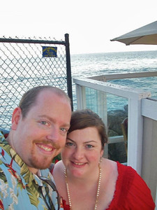 Sarah and Paul took a shot of the ocean afterwards.