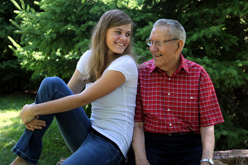 kate and grandpa