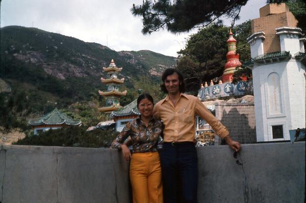 James & Betty Mignone, Hong Kong, April 1974