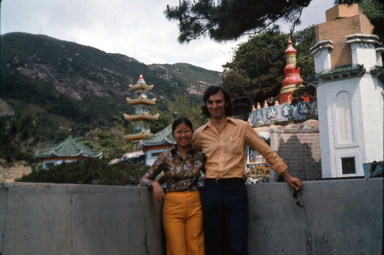 James & Betty Mignone, Hong Kong, April 1974