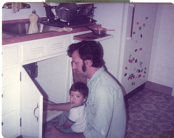 James & Nathan Mignone, circa 1983